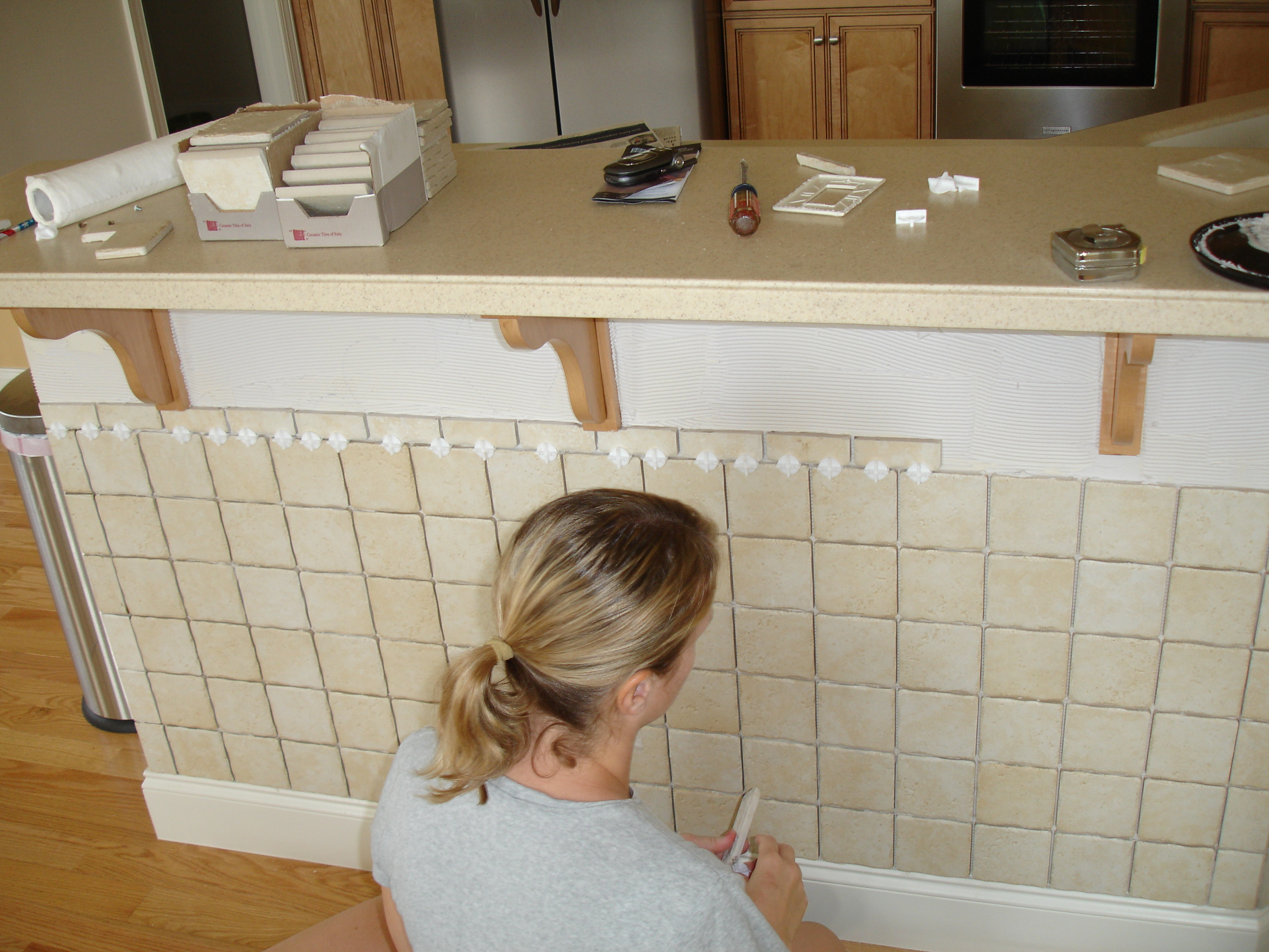 Our First Tiling Experience Puddy S House