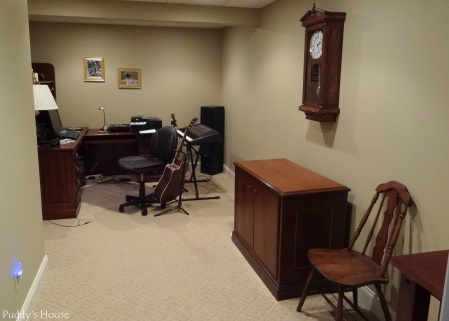 Basement - Music-office Room