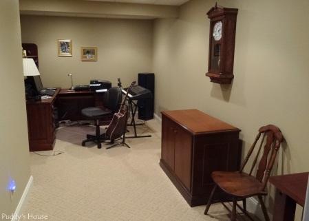 Basement - Music-office Room