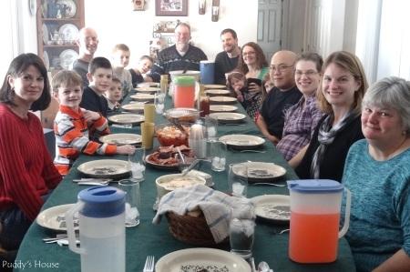 Christmas - Family Table