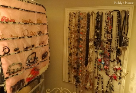 Closet Reorganization - Necklaces-Bracelets-Earrings-Storage