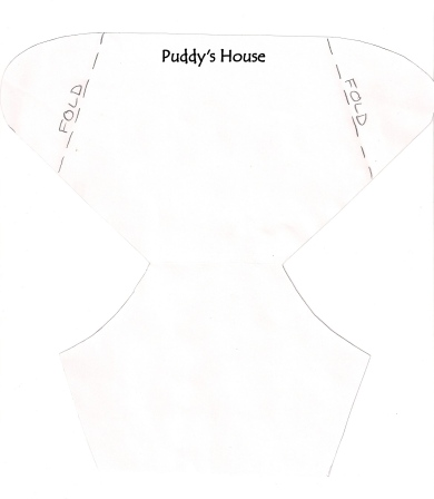 Diy diaper invitation puddy 39 s house for Diaper cut out template