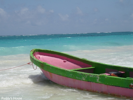 Vacation - Pink Boat Mexico May 2007