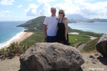 Vacation - St Kitts Atlantic and Caribbean view bob and leslie Feb 2010