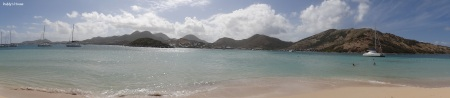 Vacation - St Marteen panoramic