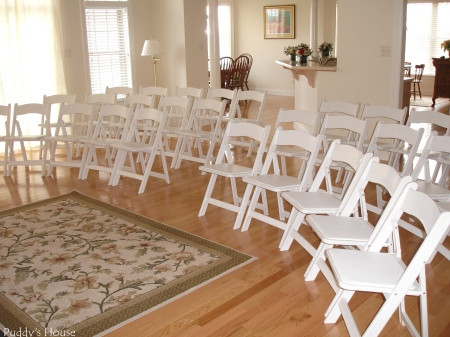 Wedding - Chairs in Living Room