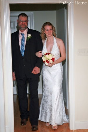 Wedding - Here comes the bride-Leslie and Dad