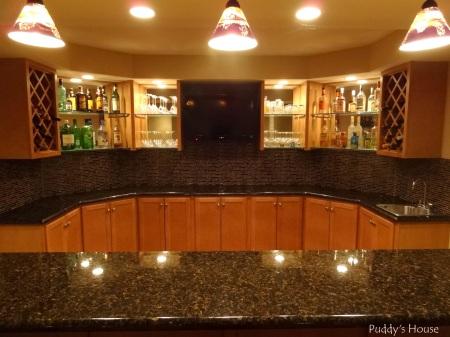 Bar Backsplash -after tile