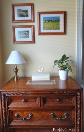 Nightstand - After Pictures and new decor