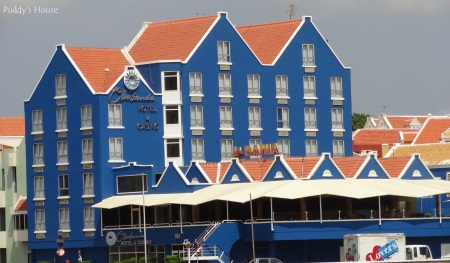 Curacao - Blue and White hotel