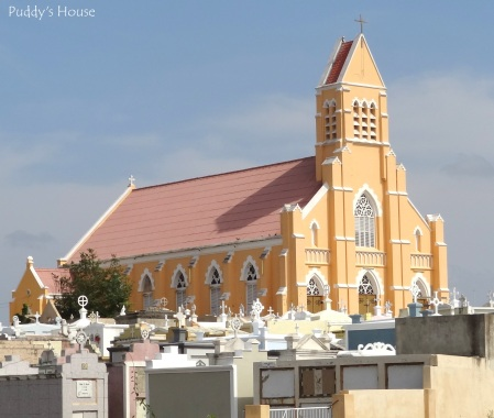 Curacao - Church and cemetery