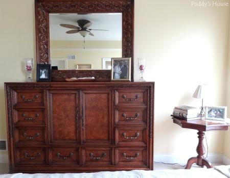 Master Bedroom - dresser and side table