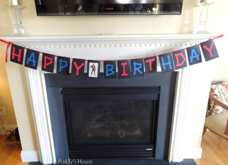 Spiderman Birthday - Happy Birthday Banner