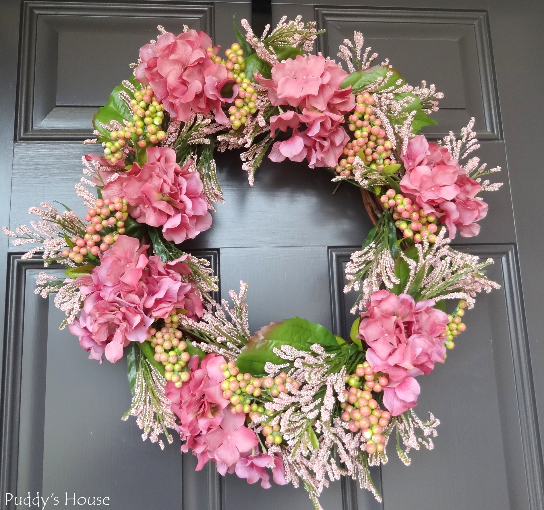 on your front door year round any one else make a new spring wreath