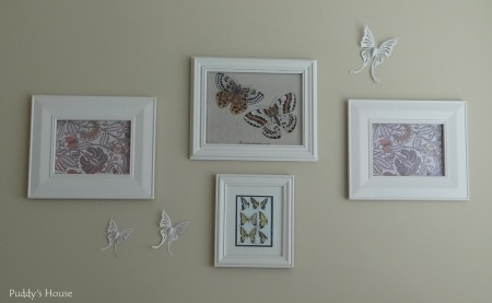 Craft Room - New Butterfly wall art