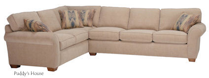 Living Room - New Flexsteel  Vail Sectional-2