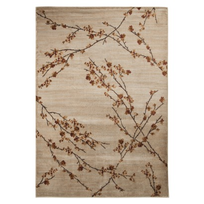 Rugs - Target Mohawk Home Asian Branches Area Rug - Coconut