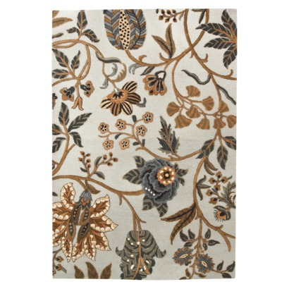 Rugs - Target Threshold Hooked Wool Area Rug - Blue-brown