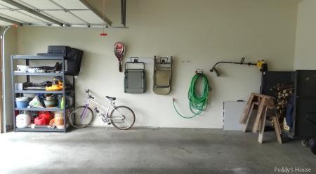 Garage after full left side