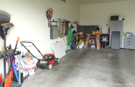 Garage - Before full left side