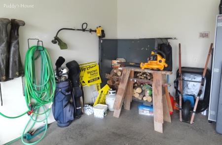 Garage - Before left side