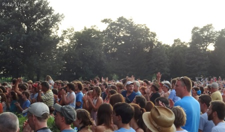 Dawes Concert - Crowd