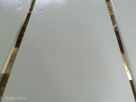 Kitchen Cabinets - close up of painted surface