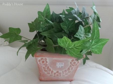 Thrift Shopping - Fake Plant